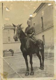 mio padre nella cavalleria
