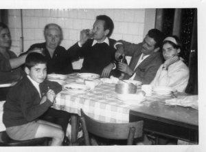 mamma, Filomena con figlio Luigi Conte,papà,Giovanna,Carmelo