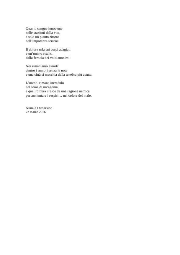 poesia nunzia