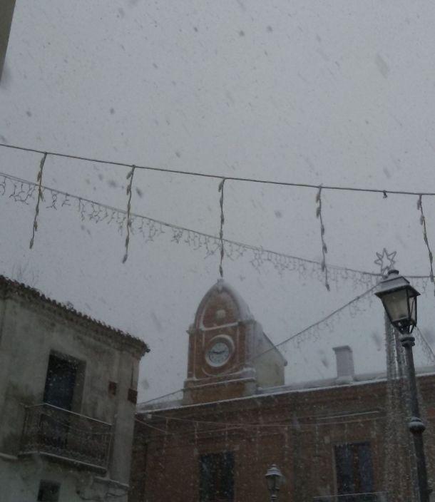 neve al paese natale